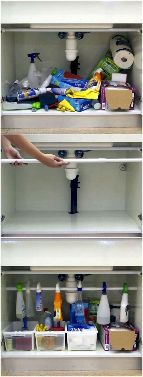 Apartment Organization Hacks Cool 55 Clever Small Apartment Hacks And Organization