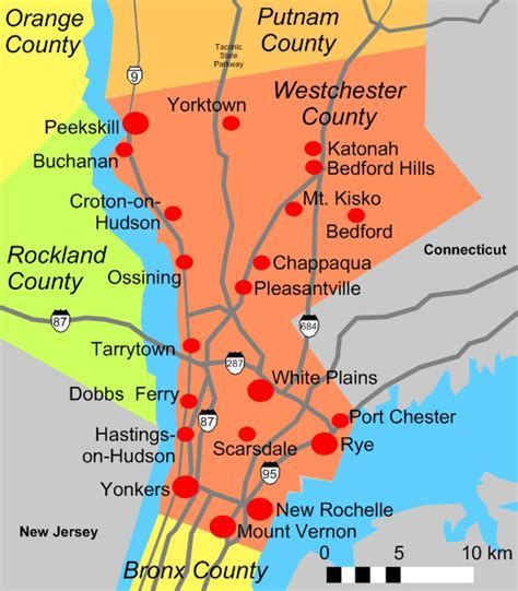 Westchester County Records File Westchester County Map Jpg Wikimedia Commons