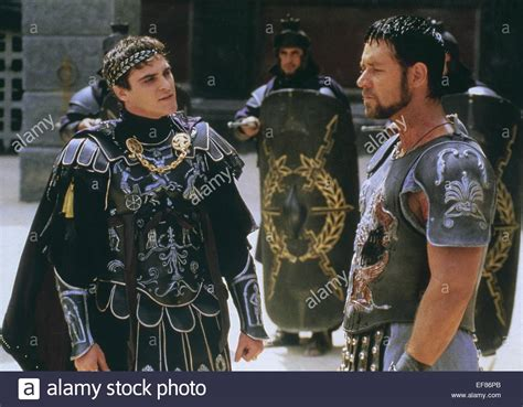 russell crowe gladiator 2000 stock photo royalty free joaquin phoenix russell crowe gladiator 2000 stock