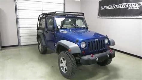 jeep tent 2 door jeep wrangler 2 door jk gobi stealth roof rack 07 15 by