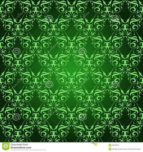 wallpaper pattern vintage green vintage damask seamless pattern on green royalty free