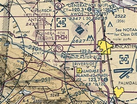 la sectional chart abandoned little known airfields california northern