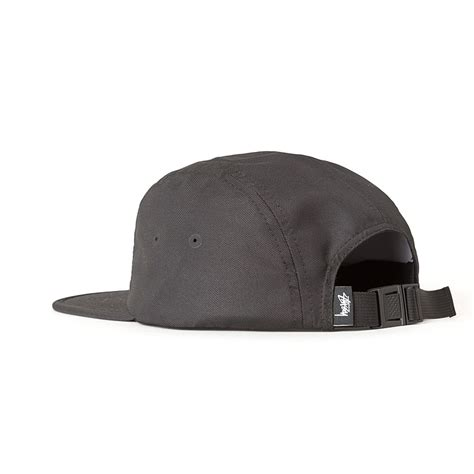 Topi Five Cap Panel Stussy Premium Quality stussy crushable c cap black hlstore highlights