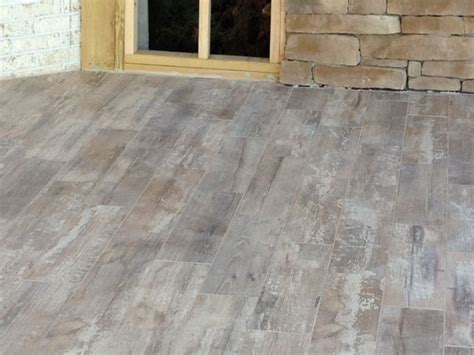 Outdoor Porcelain Tile Patio by Stonepeak Ceramics