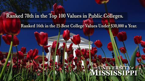 Millsaps College Mba Ranking by Um Makes Kiplinger S Best Value Lists Ole Miss News