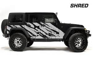 jeep wrangler rubicon custom vinyl graphics decal wrap kit