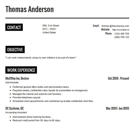 How To Make A Resume by How To Create A Resume Resume Cv