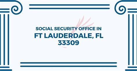 Social Security Office Fort Lauderdale by Social Security Office In Ft Lauderdale Florida 33309