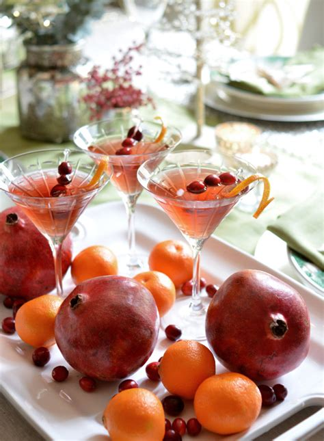 martini cranberry 5 easy holiday cocktails fresh american style