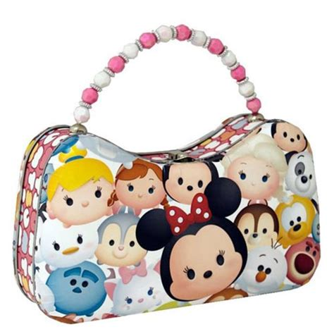Tas Anak Tsum Tsum Lunch Box 2 4 Tahun 2181ll preview of the new disney tsum tsum tin lunch box and scoop purse from tin box company disney