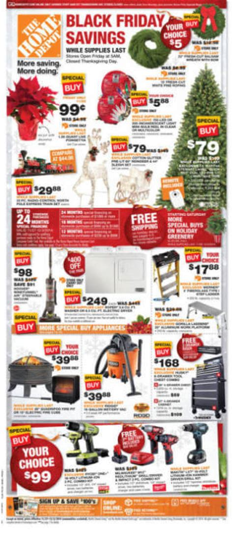 home depot black friday 2014 ad page 2
