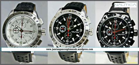 Special Jam Tangan Monblanc Date Leather Black White Lim jam tangan pria jam tangan arloji jam tangan