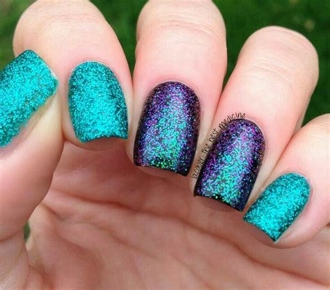 Lila Top Teal White 25 b 228 sta id 233 erna om purple glitter nails p 229