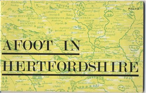 afoot in books hertfordshire genealogy book 0218 afoot in hertfordshire