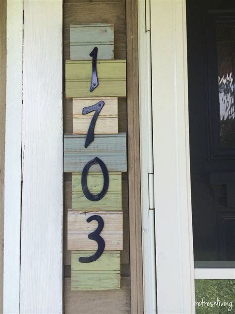 home address numbers and functional ways to display house address numbers