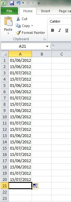 java pattern date exle worksheet function autofill date pattern with excel