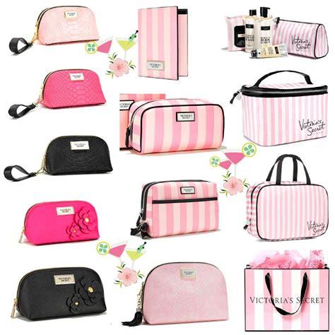 Secret Cosmetic Pouch 0024 s secret cosmetic travel bag makeup striped leopard u pic new ebay