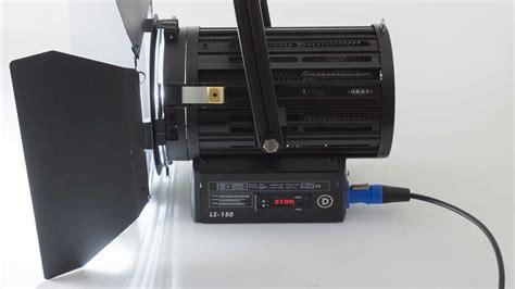 Led A Ls by Test Filmgear Led Fresnel Ls 150 8 Led Leuchten F 252 R Filmer