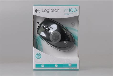 Mouse Logitech M100r jual logitech m100r optical mouse usb black dextsemarang