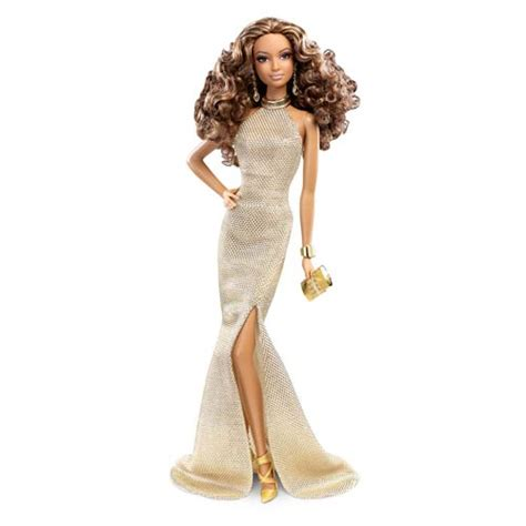 black doll inc upc 746775290887 the look doll in luxe gold gown