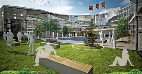 Landscape Architecture High School Courses Gallery Of şişli High School Competition Entry Cem