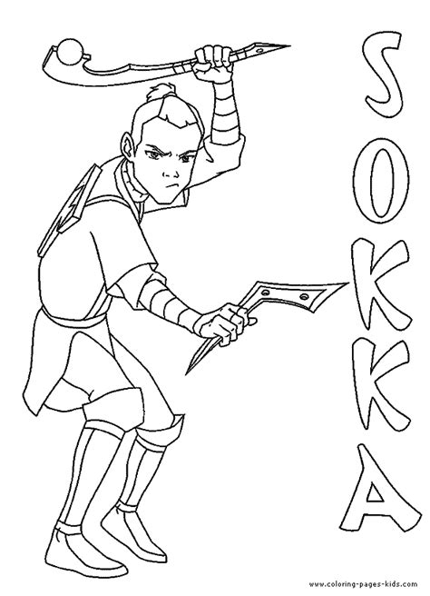 Avatar Coloring Pages by Avatar Coloring Pages