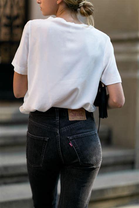 Dress Model Casual Simple Style Gray Black Impor t shirt white t shirt denim black casual monochrome wheretoget