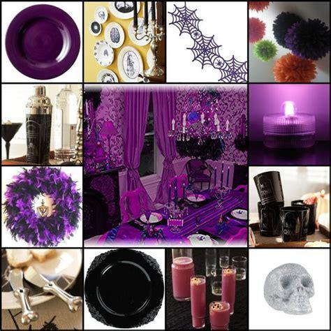 halloween decorating ideas  purple colors