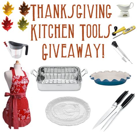 Tools Sweepstakes - thanksgiving kitchen tools giveaway holly s helpings