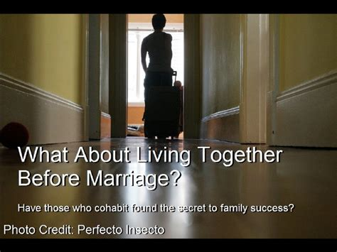 living together before marriage living together before marriage