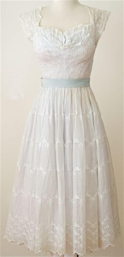 White Vintage Dress 25 best ideas about vintage white dresses on