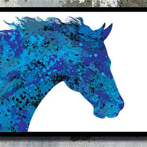 Home Interior Design Paint Colors shop horse watercolor on wanelo