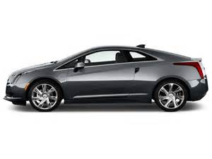 Cadillac Two Door Image 2014 Cadillac Elr 2 Door Coupe Side Exterior View