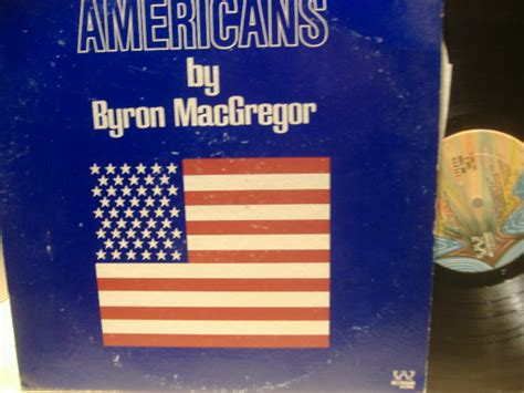 anointed god s personality lp version byron macgregor lp signed autograph americans 1974