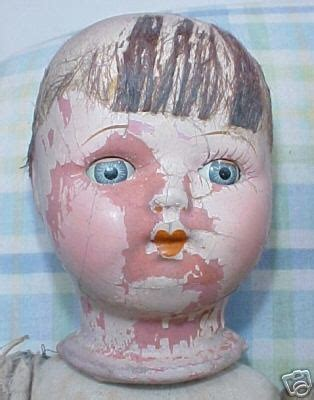 Creepy Time Dolly Composition Book 17 best images about hello dolly vintage doll heads on