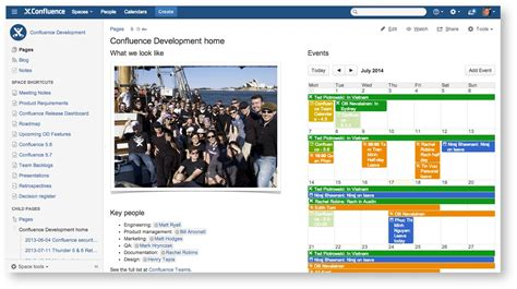 Confluence Home Page Design Exles by Should You Create A Confluence Space For Your Team Or For