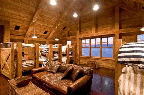 rustic room industrial rustic bunk room htons habitat