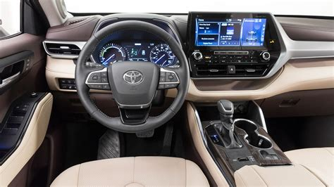 toyota highlander 2020 interior all new 2020 toyota highlander debuts it has what