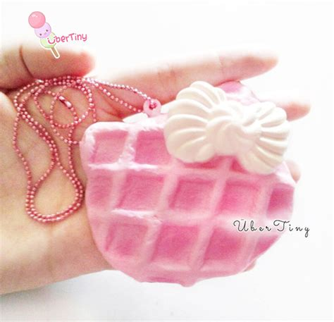Squishy Hk 1 pink hk waffle bow squishy 183 uber tiny 183 store powered by storenvy