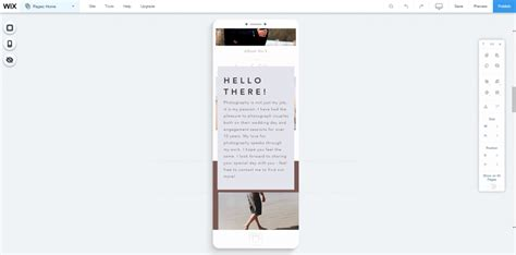 wix mobile wix review how to build a wix site july 2018 webcreate