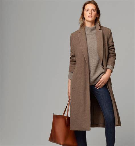 massimo dutti long coat  belt fashion camel