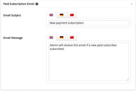 wordpress newsletter plugin configuration gt system emails