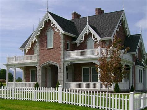 gothic revival style a new american gothic revival style home on the river