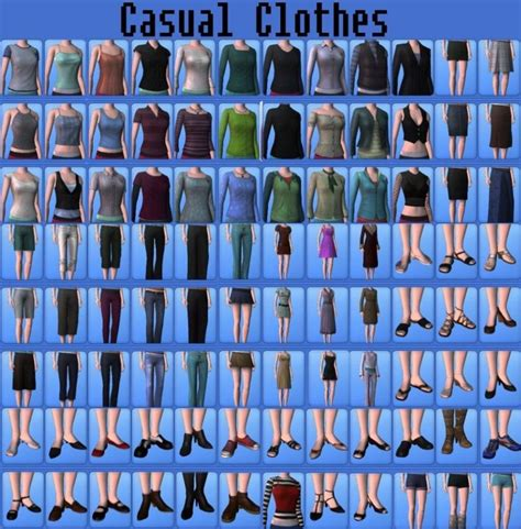 sims 3 basegame clothes and hair mod the sims no more base game clothes female
