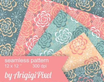 etsy the pattern repeat repeating roses etsy