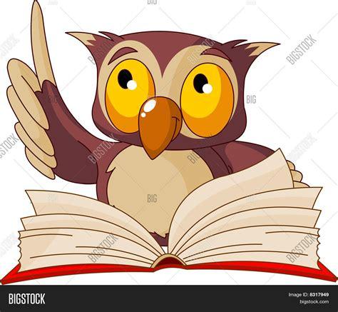 owl reading book owl reading a book clipart 101 clip art