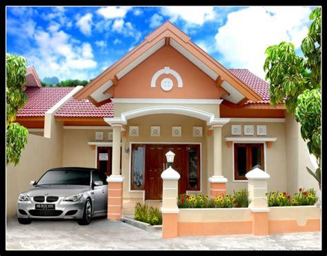 desain atap rumah cantik 70 contoh desain rumah idaman cantik sederhana renovasi