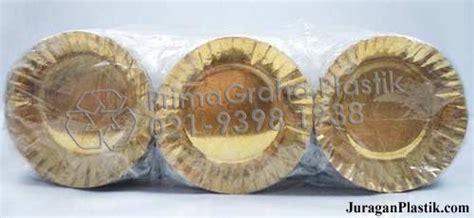 Piring Kertas Kue Tart Emas Gold Ultah Ulang Tahun Paper Plate Isi 10 piring emas kertas untuk kue ulang tahun home