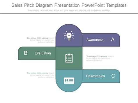 Sales Pitch Diagram Presentation Powerpoint Templates Sales Pitch Template Powerpoint