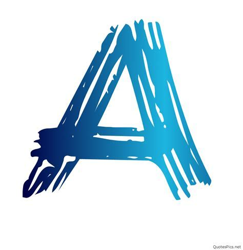 stylish images of letter a